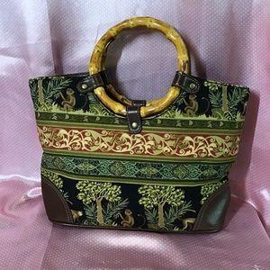 💕 🐒 Relic Bamboo Handbag 👜💕